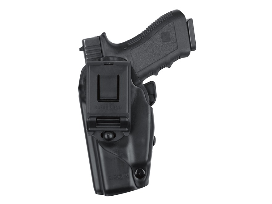 "Safariland 5379 GLS (Grip Lock System) Belt Clip Holster S&W M&P Compact 9mm, 40 S&W 3-1/2"" Barrel Polymer Black"