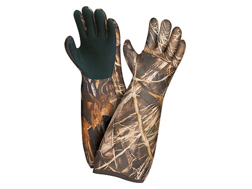Allen Waterproof Decoy Gloves Neoprene Realtree Max-4 Camo