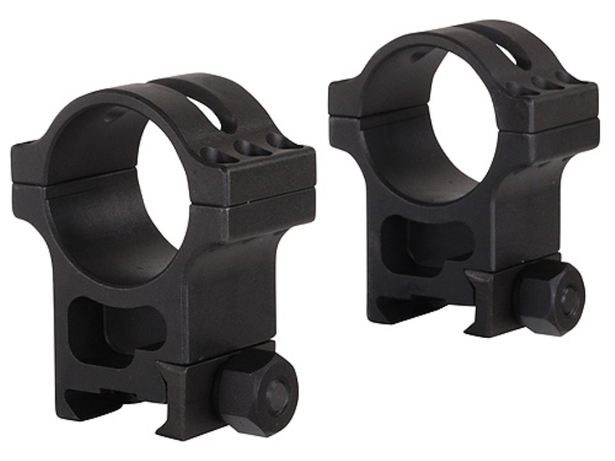 Trijicon 30mm Accupoint Steel Heavy Duty Picatinny-Style Rings Matte Extra High