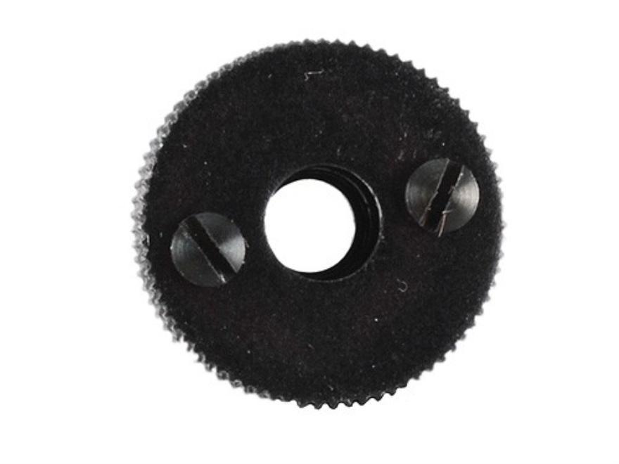 "Merit #4 Adjustable Hunting Aperture 1/2"" Diameter Long Shank (11/32"" Long) 10-32 Thread fits Marble's Sights Black"