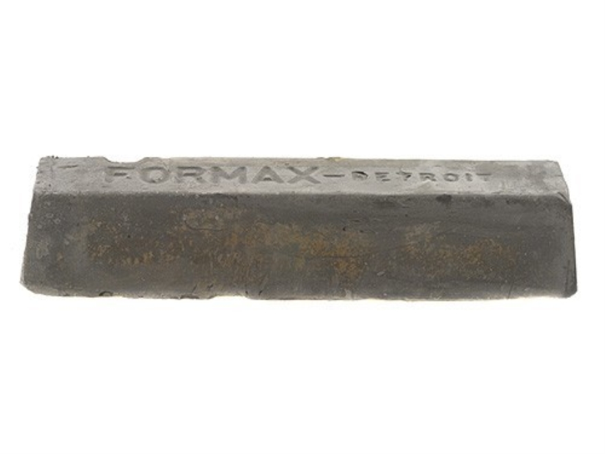 "Formax Sisal Buffing and Polishing Wheel Compound Black Emery 2"" x 2"" x 10"" Bar"