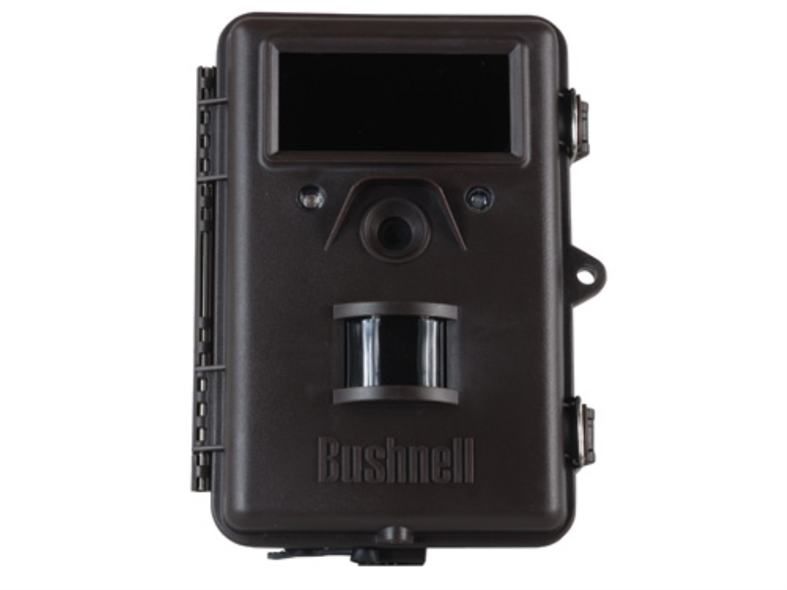 Bushnell Trophy Cam Black Flash Infrared Game Camera 8.0 Megapixel with Viewing Screen Black