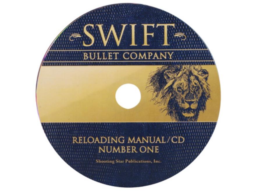 "Swift ""Reloading Manual: Number One"" CD-ROM"