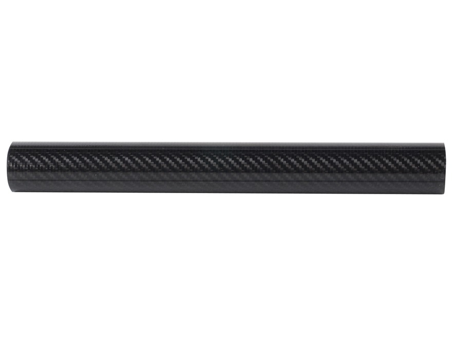 "Taccom Small 1.61"" Diameter Ultra Light Weight Free Float Tube Handguard AR-15 Extended Rifle Length Carbon Fiber"