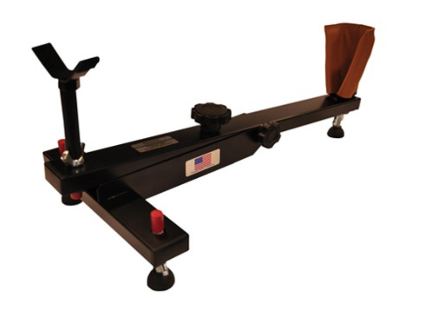 BenchMaster Benchcaddy Rifle Shooting Rest Steel Black
