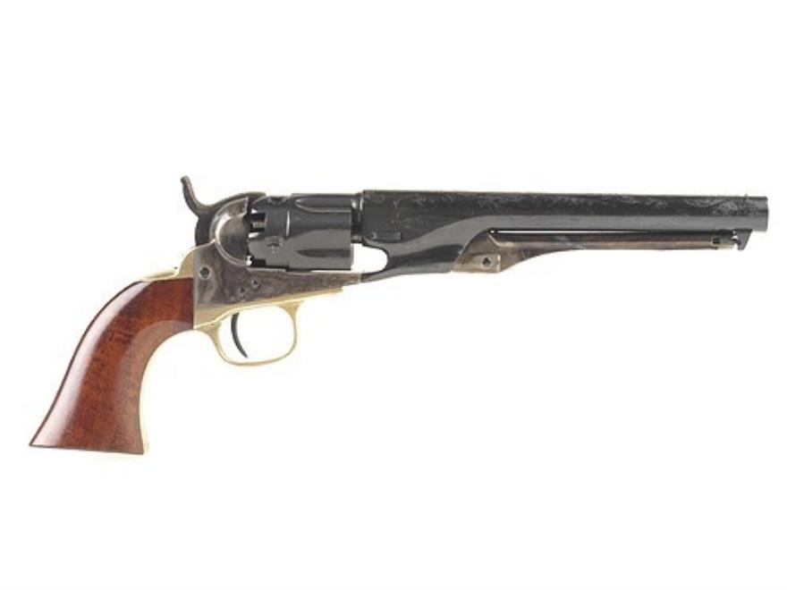Uberti 1862 Police Steel Frame Black Powder Revolver 36 Caliber Blue Barrel