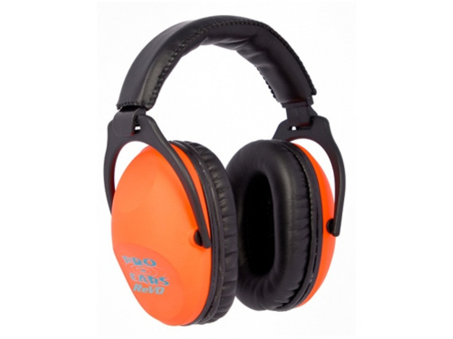 Pro Ears ReVO Earmuffs (NRR 26 dB) Neon Orange