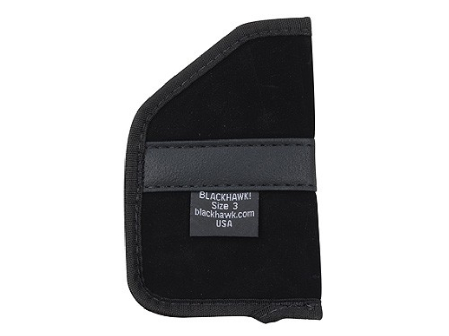 "BlackHawk Pocket Holster Ambidextrous Double Action 5-Round Revolver, Medium Frame Semi-Automatic 2"" Barrel 4-Layer Laminate Black"