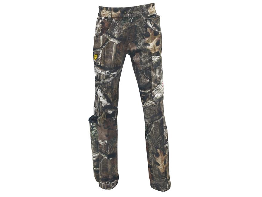 "ScentBlocker Men's Scent Control X-Bow Pants Polyester Mossy Oak Break-Up Infinity Camo Large 36-38 Waist 32-1/2"" Inseam"