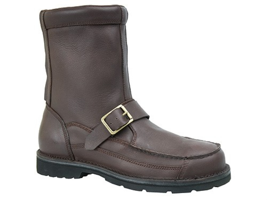 Waterproof Uninsulated Hunting Boots Leather And Nylon Brown Mens 9 D