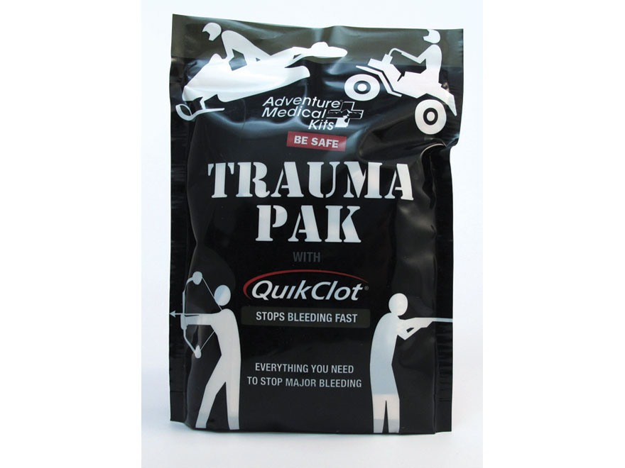 QuikClot Trauma Pak Emergency First Aid Kit