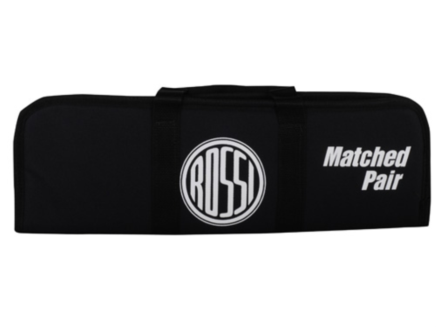Rossi Youth Matched Pair Barrel Carrying Case with Rossi Logo Nylon Black