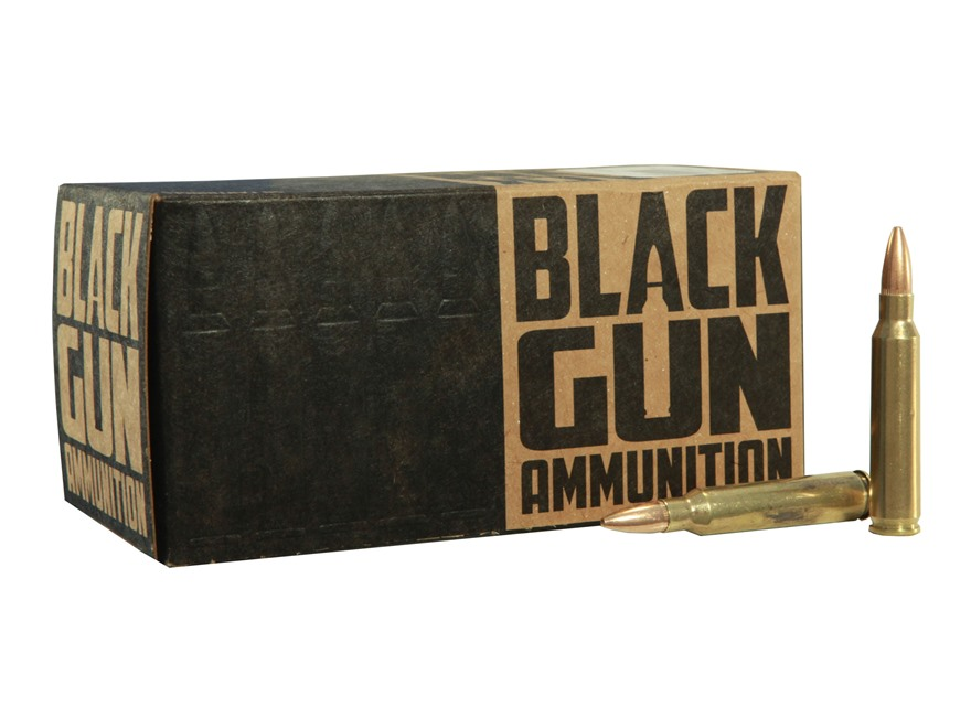 BlackGun Industries Remanufactured Ammunition 5.56x45mm NATO 55 Grain M193 Full Metal J...