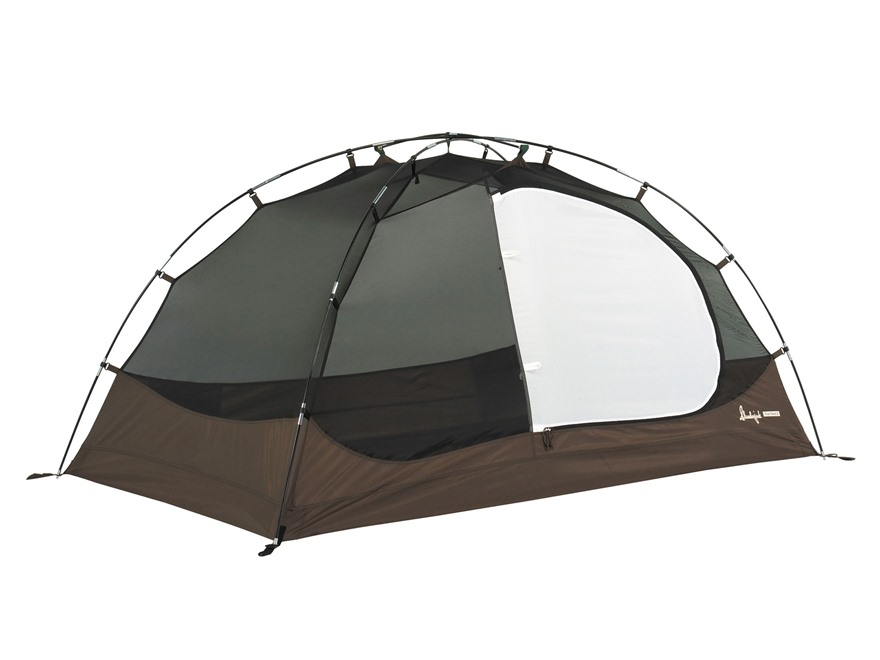 "Slumberjack Trail 3 Dome Tent 84"" x 70"" x 44"" Polyester White, Brown and Olive"