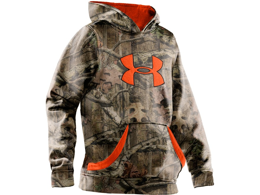 Under Armour Youth UA Big Logo Hooded Sweatshirt