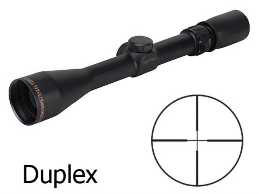 Sightron SI Rifle Scope 3-9x 40mm Duplex Reticle Matte