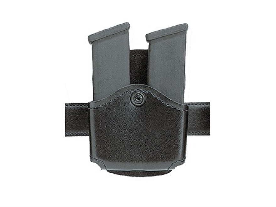 Safariland 572 Double Mag Paddle Pouch Glock 17, 19, 22, 23, 26, 27, 34, 35, Sig Sauer P229, SP2340, S&W Sigma 4C, 9C, 40F, SW9V, SW40V Laminate Black