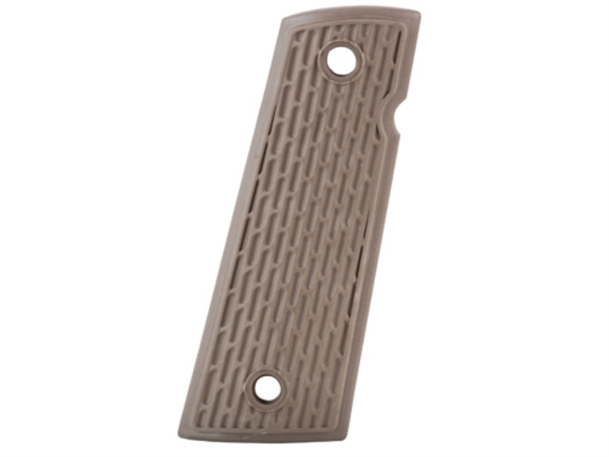 ERGO Warrior Suregrip Grip Panels Rubber Overmold Square Bottom 1911 Government, Commander