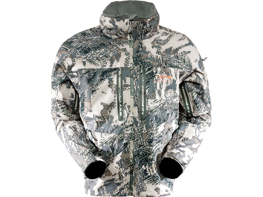 Sitka Gear Men's Cloudburst Rain Jacket Polyester Gore Optifade Open Country