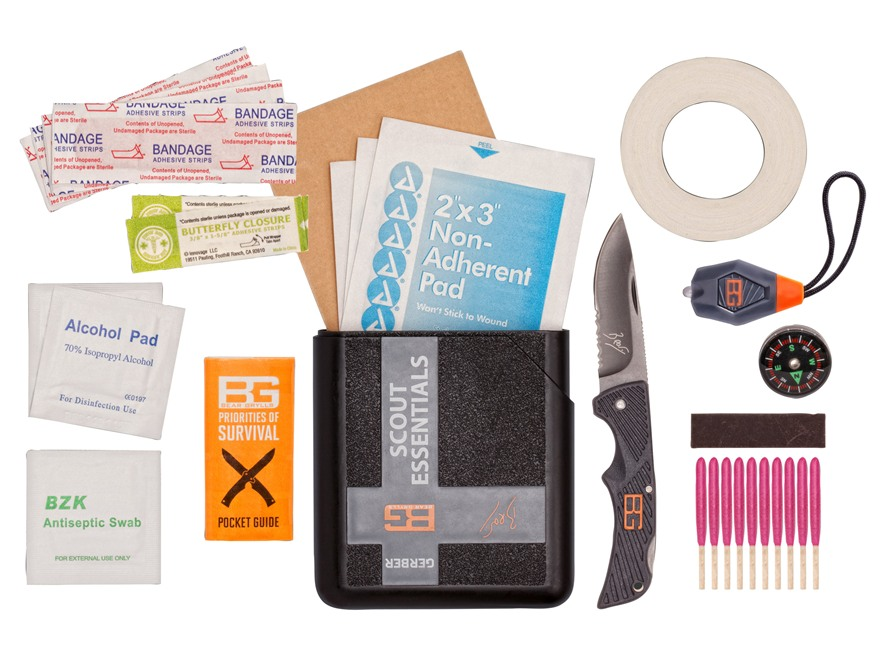 Gerber Bear Grylls Scout Essentials Survival Kit