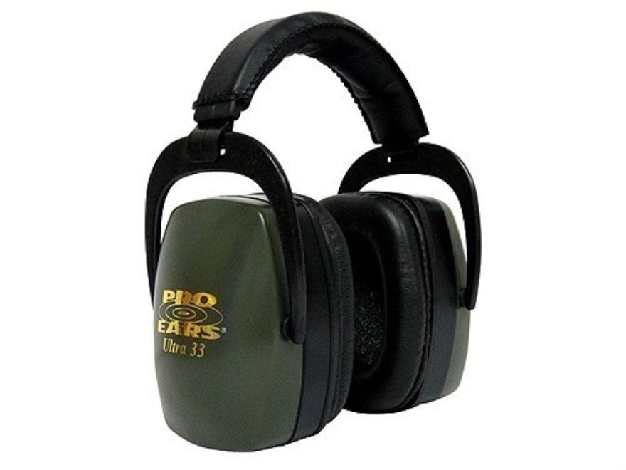 Pro Ears Ultra 33  Earmuffs (NRR 33 dB)