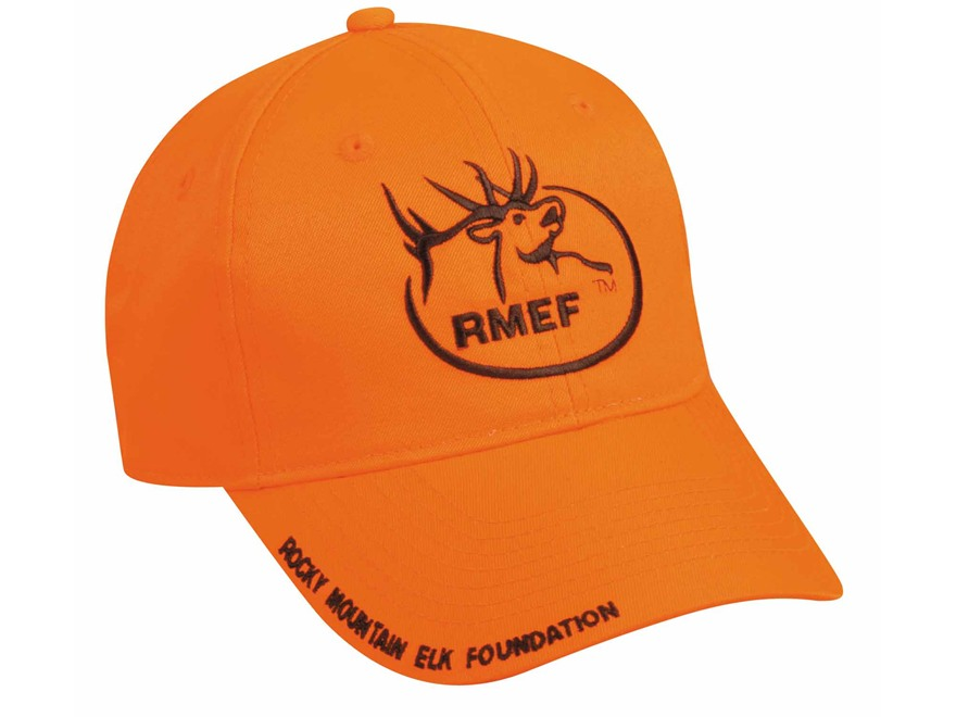 Rocky Mountain Elk Foundation RMEF Logo Cap Cotton