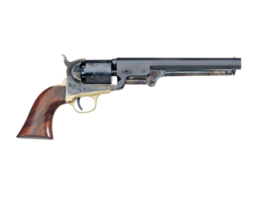 "Uberti 1851 Navy Steel Frame Black Powder Revolver 36 Caliber 7-1/2"" Blue Barrel"