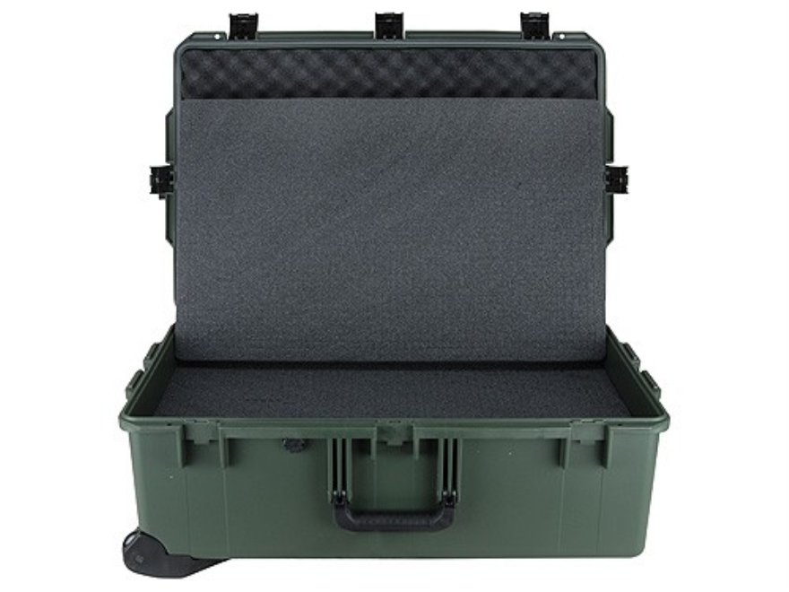 Pelican Storm 2950 Accessories Case with Pre-Scored Foam Insert and Wheels Polymer