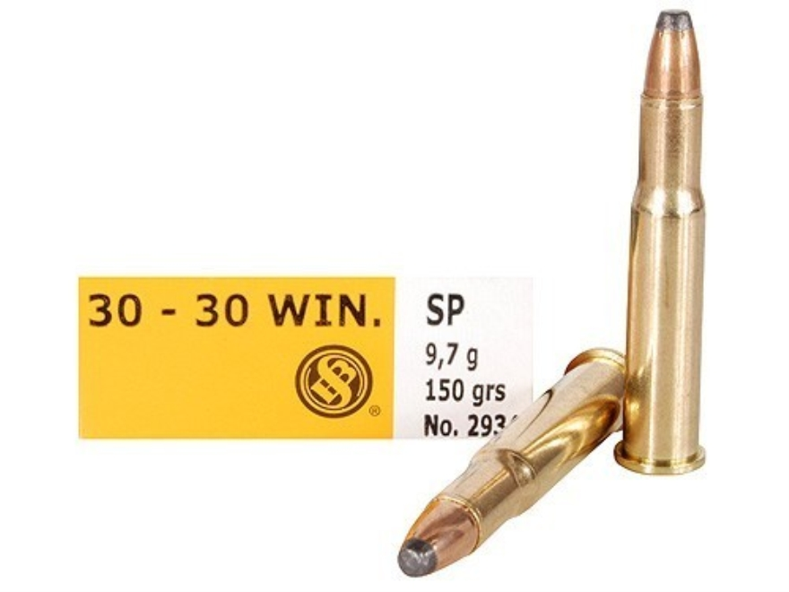 Sellier & Bellot Ammunition 30-30 Winchester 150 Grain Soft Point Box of 20