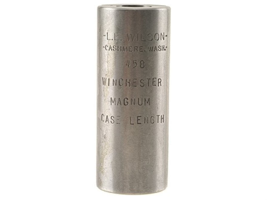 L.E. Wilson Case Length Gage 458 Winchester Magnum
