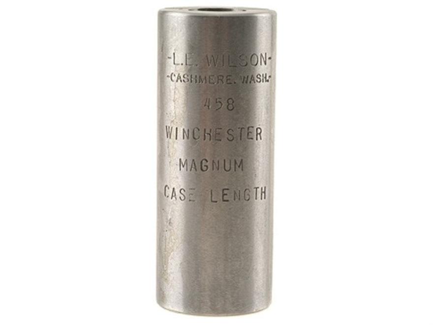 L.E. Wilson Case Length Gage 458 Winchester Magnum