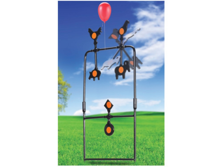 Gamo Spinner Swinging Airgun Target Stand Steel Black