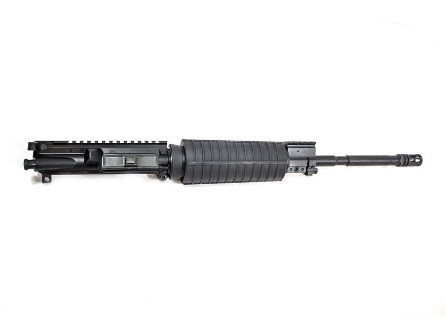 "CMMG AR-15 M4 LE A3 Upper Receiver Assembly 300 AAC Blackout 16"" Barrel Single Rail Gas Block"