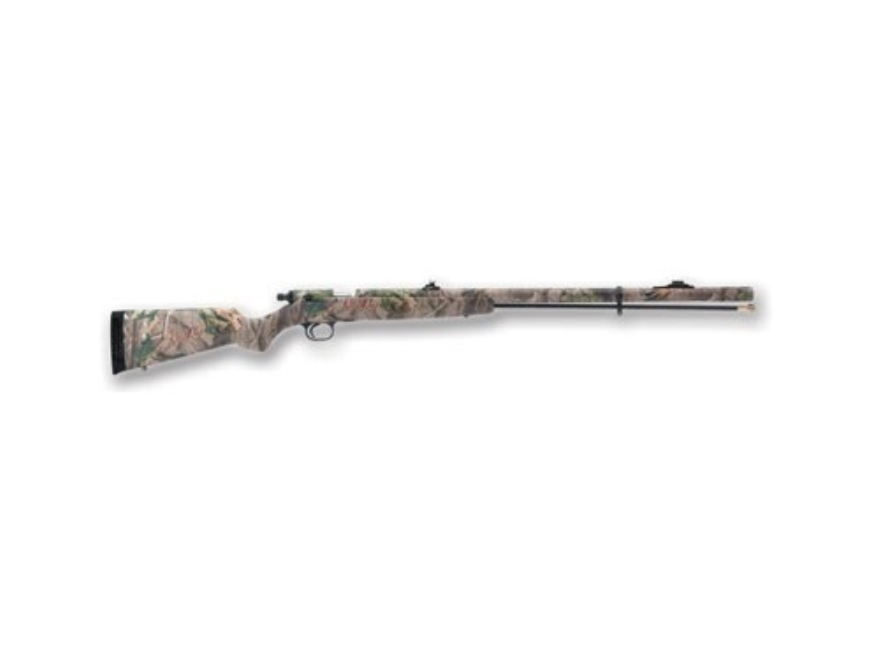 "Knight TK2000 Muzzleloading Shotgun 12 Gauge #209 Primer Hardwoods Green Composite Stock 26"" Hardwoods Green Camouflage Barrel"