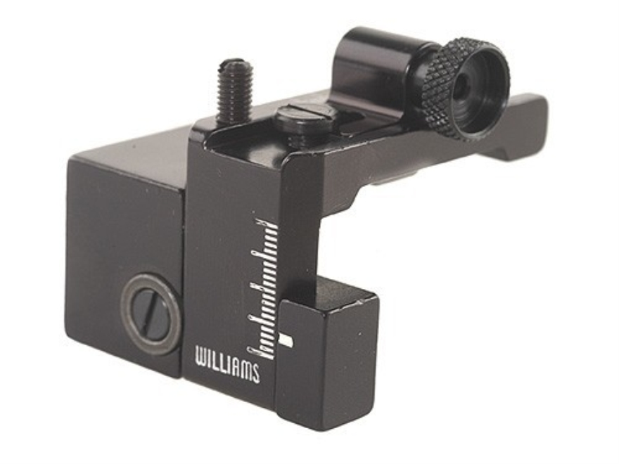 Williams 5D-94SE Receiver Peep Sight Winchester 94 Angle Eject (Except Big Bore) Aluminum Black