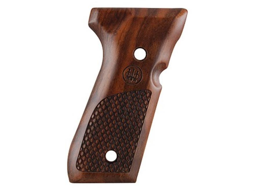 Beretta Factory Grips Beretta 92, 96 Oval Texturing Walnut