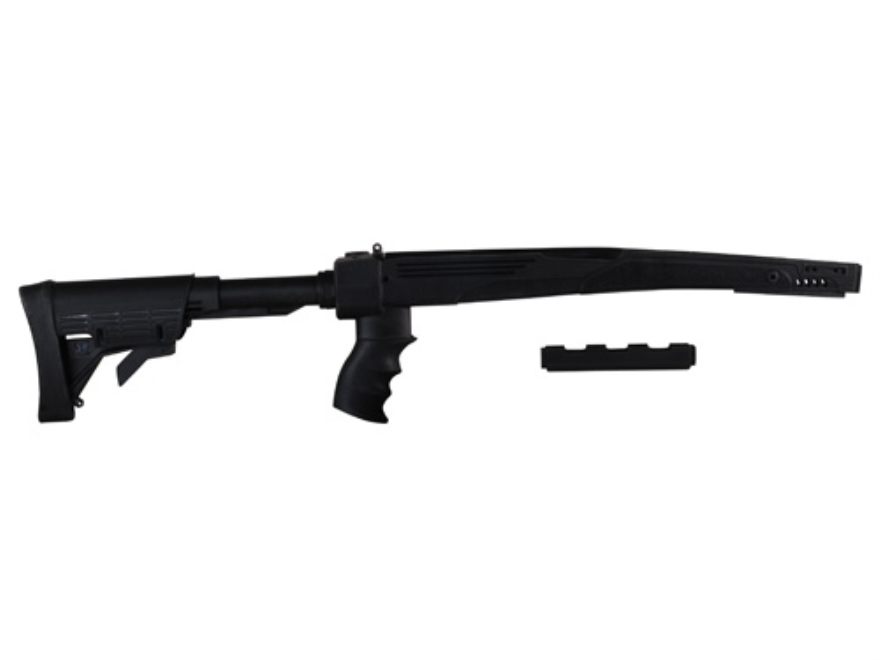 Advanced Technology Strikeforce 6-Position Collapsible Rifle Stock with Scorpion Recoil System SKS Polymer Black