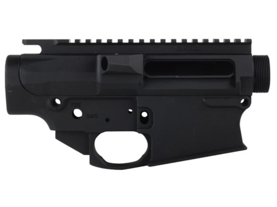 SI Defense Billet Matched Upper and Lower Receiver Set LR-308 Generation IV for DPMS Magazine Matte