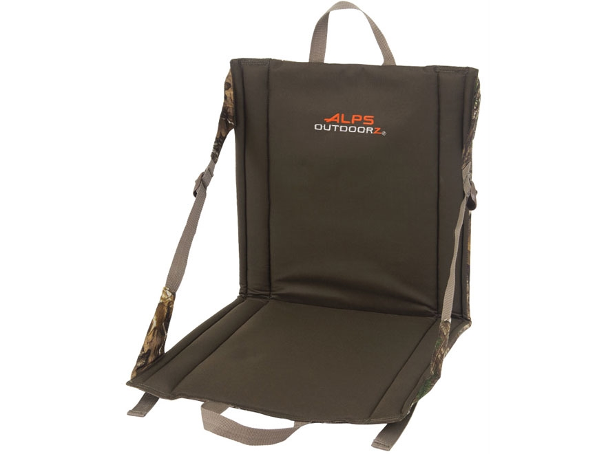 ALPS Outdoorz Weekender Ground Seat Nylon Realtree Xtra Camo and Brown