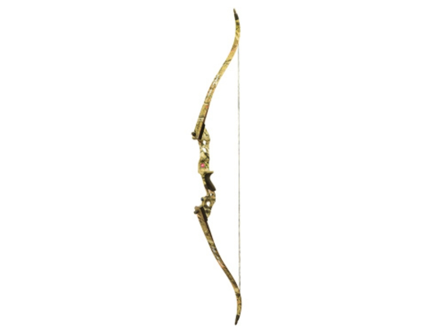 PSE Coyote Takedown Recurve Bow Right Hand Aluminum Riser with Fiberglass Limbs Mossy Oak Break-Up Infinity Camo