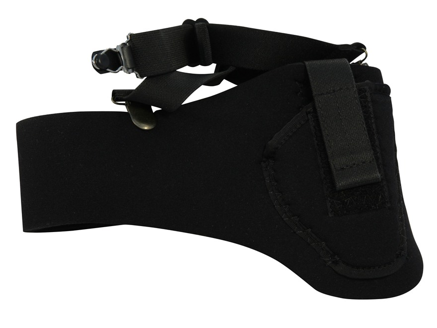 DeSantis Thigh High Leg Holster Neoprene Black