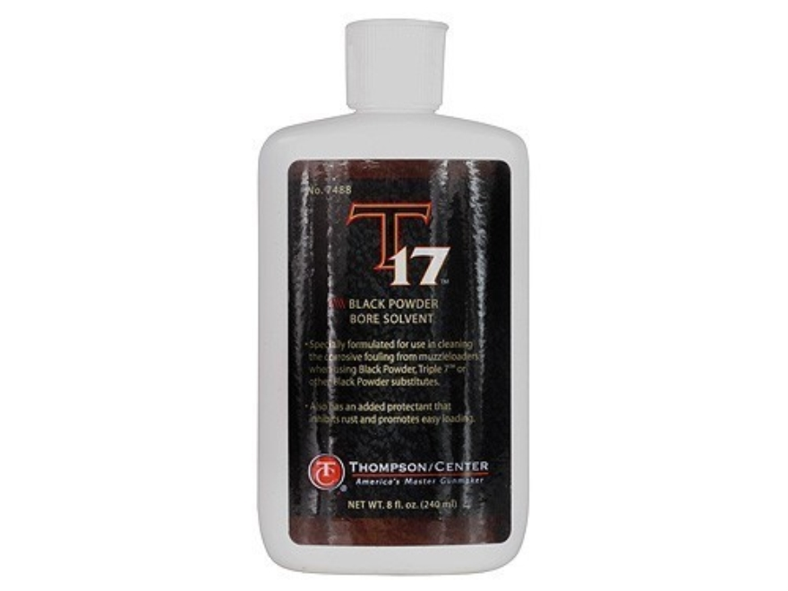 Thompson Center T-17 Black Powder Bore Solvent 8 oz
