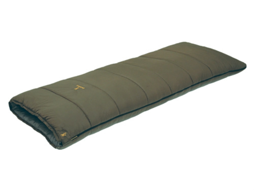 "Browning Acadia 30 Degree Sleeping Bag 33"" x 84"" Nylon Clay"