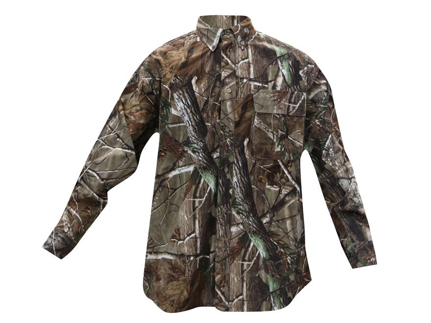 Gamehide Men's Elimitick Button-Up Shirt Long Sleeve Synthetic Blend