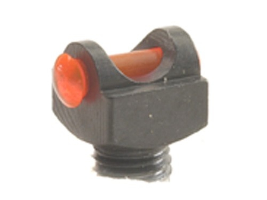 "Marble's Expert Shotgun Front Bead Sight .094"" Diameter 6-48 Thread 3/32"" Shank Fiber Optic"