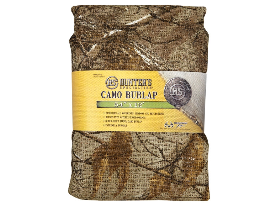 "Hunter's Specialties Blind Material 12' x 54"" Burlap"