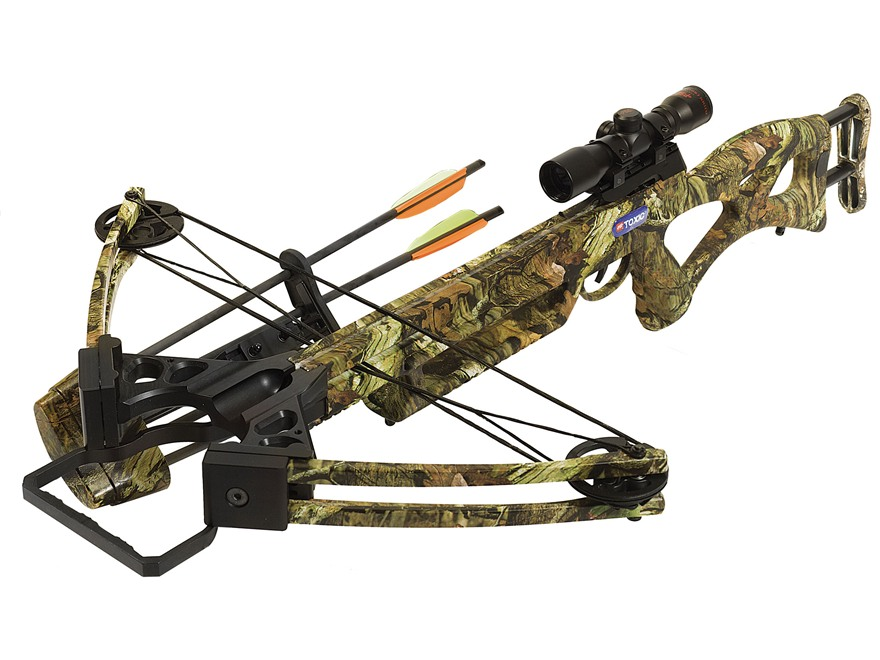 PSE Toxic Crossbow Package with 4x 32mm Crossbow Scope Mossy Oak Break-Up Infinity Camo