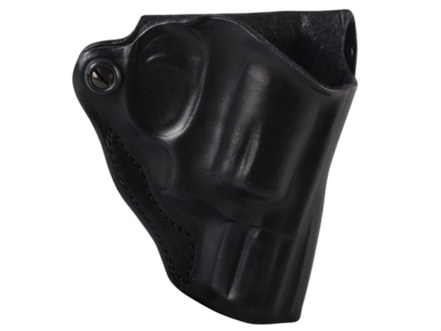 DeSantis Mini Scabbard Belt Holster S&W J-Frame Leather