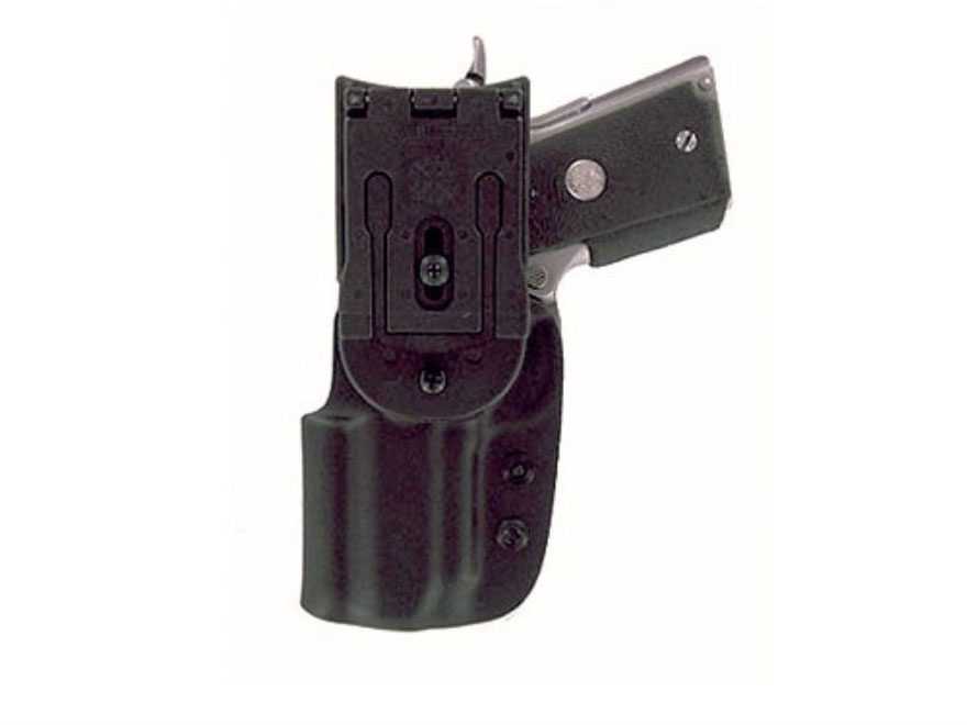 Blade-Tech DOH Dropped and Offset Belt Holster Right Hand 1911 Commander Tek-Lok Kydex Black
