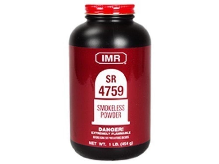 IMR SR4759 Smokeless Gun Powder